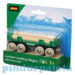 Járművek - Vonatok - Brio felszállító vagon