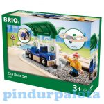 Vonatok - Brio városi út szett