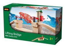 Játékvonatok - Vonatkészletek - Sínpályák - Állomások - Emelkedő híd - Brio