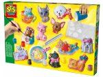 Kreatív hobby készletek - SES kutyák és cicák 3d gipszkiöntő készlet