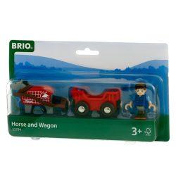 Járművek - Vonatok - Brio ló és vagon