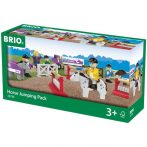Járművek - Vonatok - Brio lóugrató szett