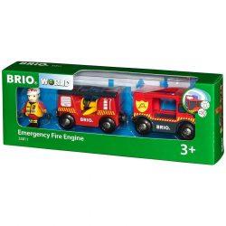 Vonatok - Brio Sűrgősségi tűzoltóautó