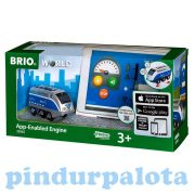 Járművek - Brio - Vonatok - Applikációval irányítható mozdony