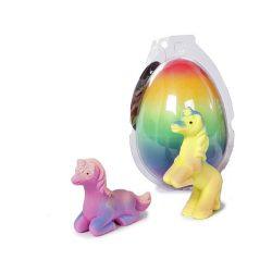 Pónis játékok - Unikornis - Unikornis tojás szivárványos Önts rá vizet és kikel