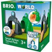 Játékvonat kiegészítő - Brio Smart Tech - Okos alagút