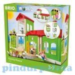 Járművek - Vonatok - Brio - Családi ház szett