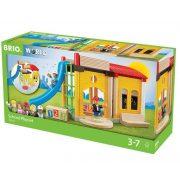 Járművek - Vonatok - Brio - Iskola szett 33943