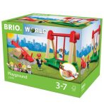 Járművek - Vonatok - Brio - Játszótér szett 33948
