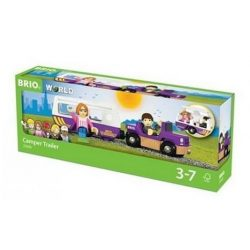 Járművek - Vonatok - Brio - Lakókocsi utánfutó 33949