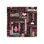 Kreatív hobby készletek - Dekorációk - Kávé mintás szalvéta színes