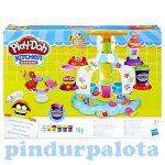 Gyurmák - Play-Doh gyurmaszett: Jégkrém- és cukorkagyár, Hasbro