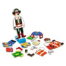 Mágneses játékok - Öltöztetők - Fiús