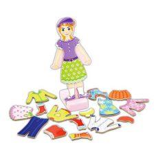 Mágneses játékok - Öltöztetők - Lányos