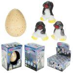 Állat figurák - Tojásból kikelő pingvin