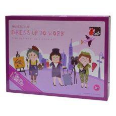 Mágneses játékok - Öltöztetők - Lányos foglalkozások