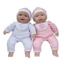 Élethű játékbabák - Élethű Berenguer babák - Berenguer puhatestű iker játékbabák