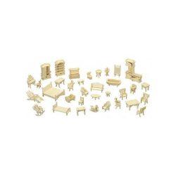 Puzzle kirakók - 3D bútor makett