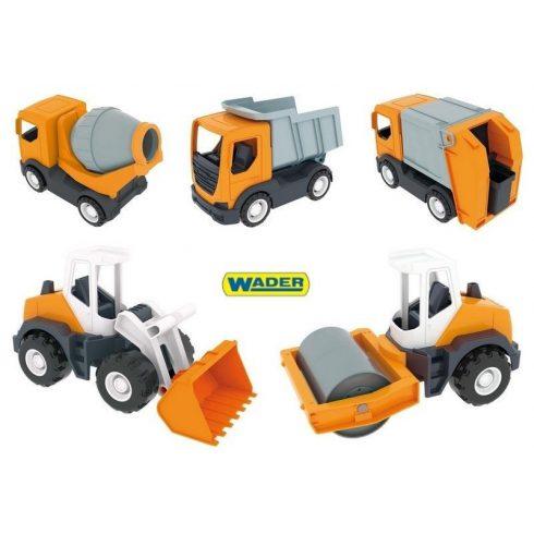Játék munkagépek műanyag járművek Wader