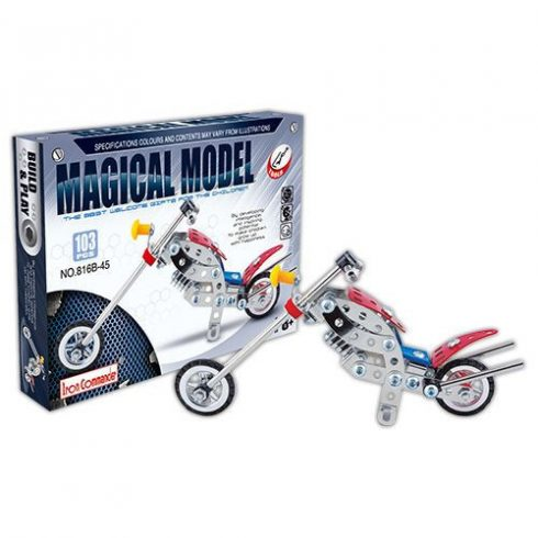 Fém csavarozós játékok - Magical Model csopper