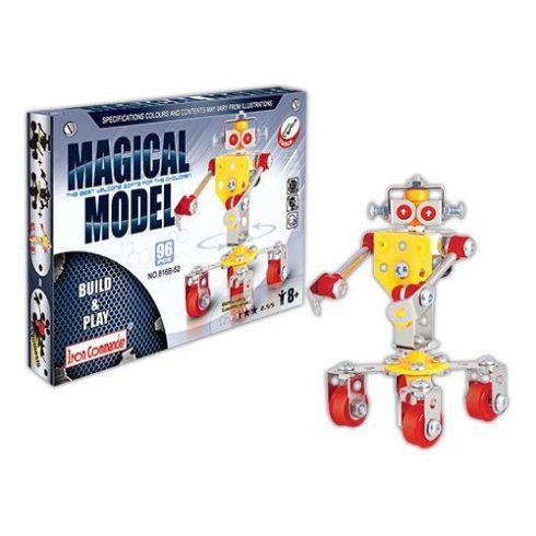 Szerelő játékok - Fém építőjátékok - Robot