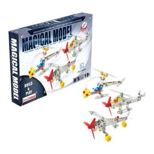 Fém építőjáték - 3 repülő együtt