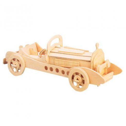 3D-s fa puzzle - Mercedes