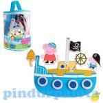 Pancsolós játékok - Fürdetős játékok babáknak - Peppa malac tapassz a csempére fürdős játék