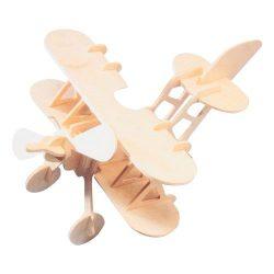 Puzzle - Kirakó - Fa ügyességi játék - Duplaszárnyú repülő