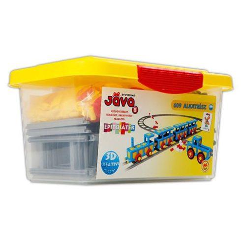 Java játékok - Java 8 építőjáték műanyag dobozban