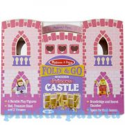 Fajátékok gyerekeknek - Melissa & Doug Szétnyitható fa kastély, Királylány