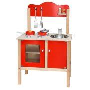 Játék konyha - Kiskonyha - Piros gyerekkonyha