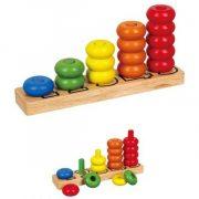 Logikus gondolkodás fejlesztő játékok - Logikai játékok - Készségfejlesztők - Logikai ferde-torony (