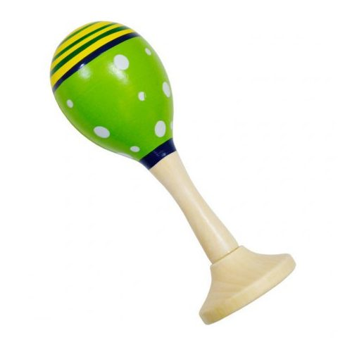 Játék hangszerek gyerekeknek - Rumbatök mini (zöld)