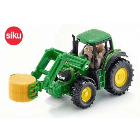 Siku játékautók - Traktor rakodóval SIKU 1379