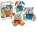 Zenélő bébijátékok - Ajándékok babáknak - Plüss, zenélő állatka babáknak