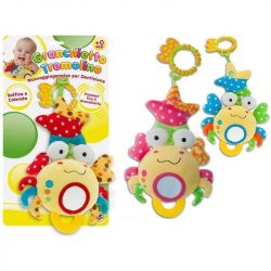 Baby játékok és kellékek - Plüss rákocska foglalkoztató