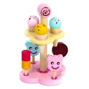 Szerepjátékok - Játékkonyha - Fagyi készlet