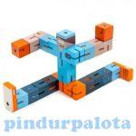 Logikai játékok - Logikai flexibilis kocka (kék)