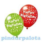 Lufik - Luftballonok - Léggömb 3db HappyBirthday