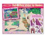 Rajzkészség fejlesztő játékok - Melissa & Doug Kreatív játék, Számos martica képkészítő, hercegnő