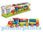 Játék vonatok - Fa vonat
