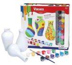 Kreatív hobby - Készletek - Festhető vázák