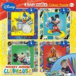 Mickey Mouse Puzzle Color 4x4 kép 4 filctollal