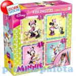 Gyerek Puzzle - Kirakósok - Walt Disney Zig Zag Puzzle Color Puzzle 2in1