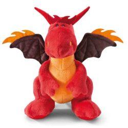 Nici Plüssök - Happybox ajándéktárgyak - Happy Box Nici Plüss Tüzes sárkány ülő