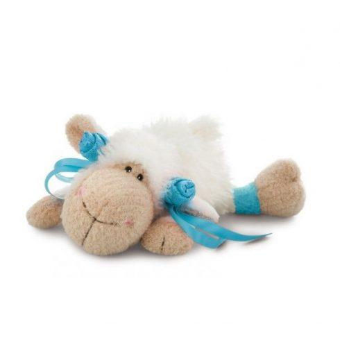 Happy Box Nici - Plüss bárány Jolly Summer 20 cm fehér-kék