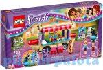 Építőjátékok - Építőkockák - 41129 LEGO Friends Vidámparki hotdog árusító kocsi
