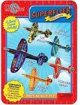 Játékrepülők gyerekeknek - Fém dobozos szuper repülő szett