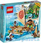 Lego Disney szereplőkkel - 41150 Lego Disney Vaiana Óceáni utazása